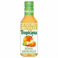 Tropicana pur jus mandarine pomme raisin pet 90cl