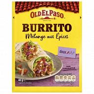 Old el paso épices pour burrito 40g