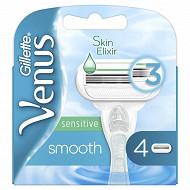 Gillette Venus smooth sensitive lames x4