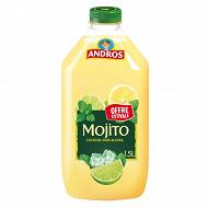 Andros mojito sans alcool pet 1.5l offre estivale