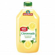 Andros citronnade pet 1.5l offre estivale