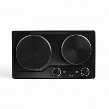 Livoo Plaque de cuisson électrique noire double DOC168N