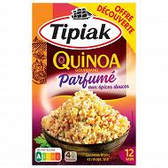 Tipiak quinoa grand parfun aux epices offre découverte 240G