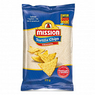 Mission tortilla chips salt nixtamal 175g