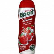 Sirop de fraise sirop sport 60 cl
