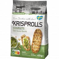 Krisprolls complets sans sucres ajoutés 425g
