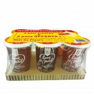 Lune de miel miel de fleurs pot plastiiue 6kg 4+2 offerts