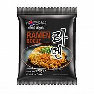 Korean food style nouilles ramen sachet boeuf 170g