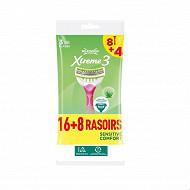 Xtreme 3 beauty Sensitive X8+4 lot de 2