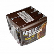 Apollo nouilles boeuf 4+1 425g