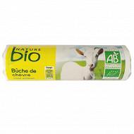 Nature Bio bûche de chèvre affinée bio 25%mg 180g