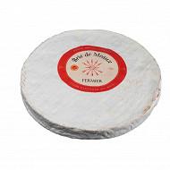 Brie de meaux fermier 1/4 affine aop 22%mg/poids total