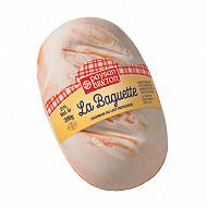 Baguette paysan breton 200g 21%Mg/poids total
