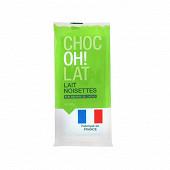 Tablette lait noisettes 4x100g