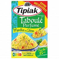Tipiak préparation taboulé menthe 350g offre découverte