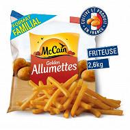 Mccain frites golden allumettes 2.6kg
