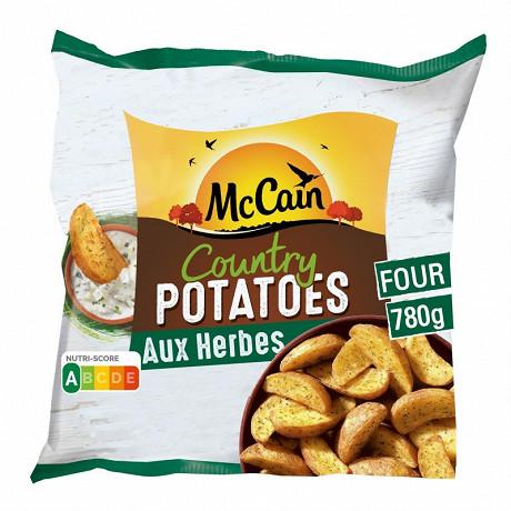 Mccain country potatoes  780gr