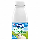 Lactel lait de brebis 1/2 écrémé uht bouteille 1l