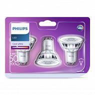 Philips ampoule led GU10 classic 4.6-50w cw 36d 3bc/8 srp
