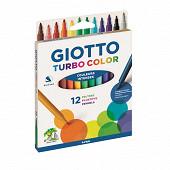 Giotto étui de 12 feutres turbo color