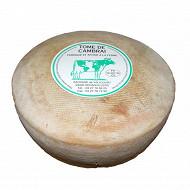 Tomme de cambrai  saveurs en or - au lait cru de vache - 26%mg/poids total
