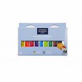 Lefranc Bourgeois boite carton gouche supérieure x10