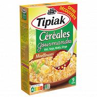 Tipiak céréales gourmandes 400g offre découverte