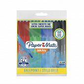 Papermate pochette inkjoy 100cap fine 27 std format spécial