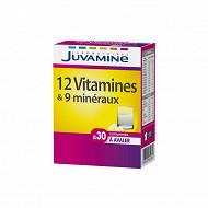 Juvamine new 12 vitamines + 9 minéraux à avaler 27g