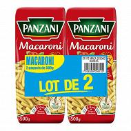 Panzani macaroni 500g x 2