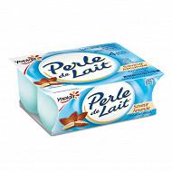 Perle de lait aromatisé amandes 4x125g