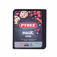 Pyrex plaque de cuisson 33x25cm magic