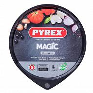Pyrex plaque à pizza 30cm magic