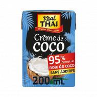 Real thai crème coco uht 200ml