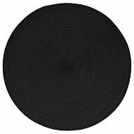 Set de table tressé - coloris noir
