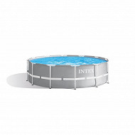 Kit piscine prism frame ronde tubulaire 3m66 x 99 cm