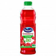 Ocean spray bio cranberry pet 1l