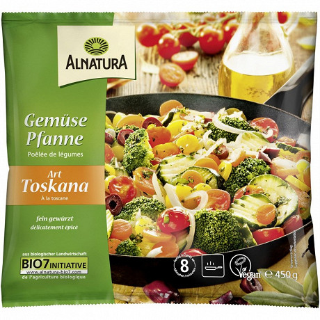 Alnatura poêlée légumes bio toskana 450g