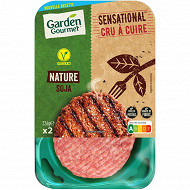 Herta le bon végétal steak moelleux x2 226g
