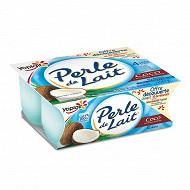 Perle de lait saveur coco 4x125g offre découverte