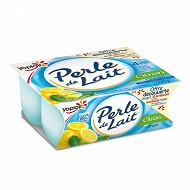 Perle de lait aromatisé citron 4x125g offre découverte