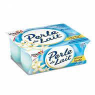 Perle de lait aromatisé vanille 4x125g