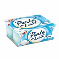 Perle de lait nature 4x125g