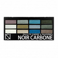 Palette ombre à paupières 12 couleurs NS n°01 noir carbone