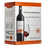 AOP Côtes du roussilon rouge ADT 3l