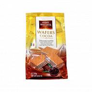 Gaufrettes fourrées à la crème de cacao 250 g