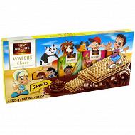 Gaufrettes à la crème au chocolat 5x45 gr