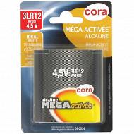 Cora 1 pile méga-activée 3LR12  4.5 volts