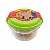 Boîte mini muffins crème au cacao 250 g