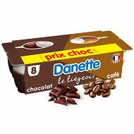 Danette le liégeois café 8x100g prix choc